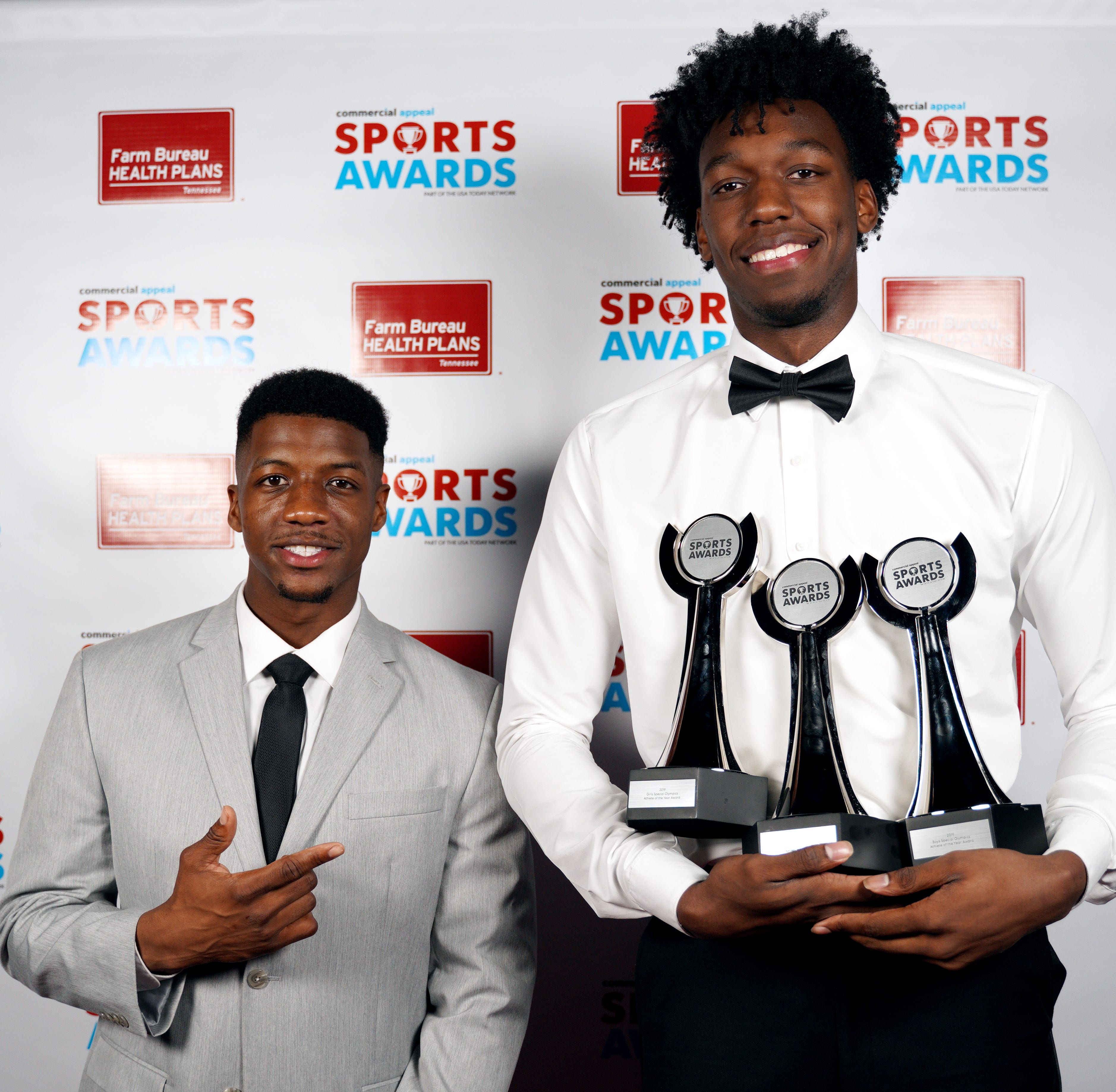 See who were the winners from the Commercial Appeal Sports Awards from Friday night