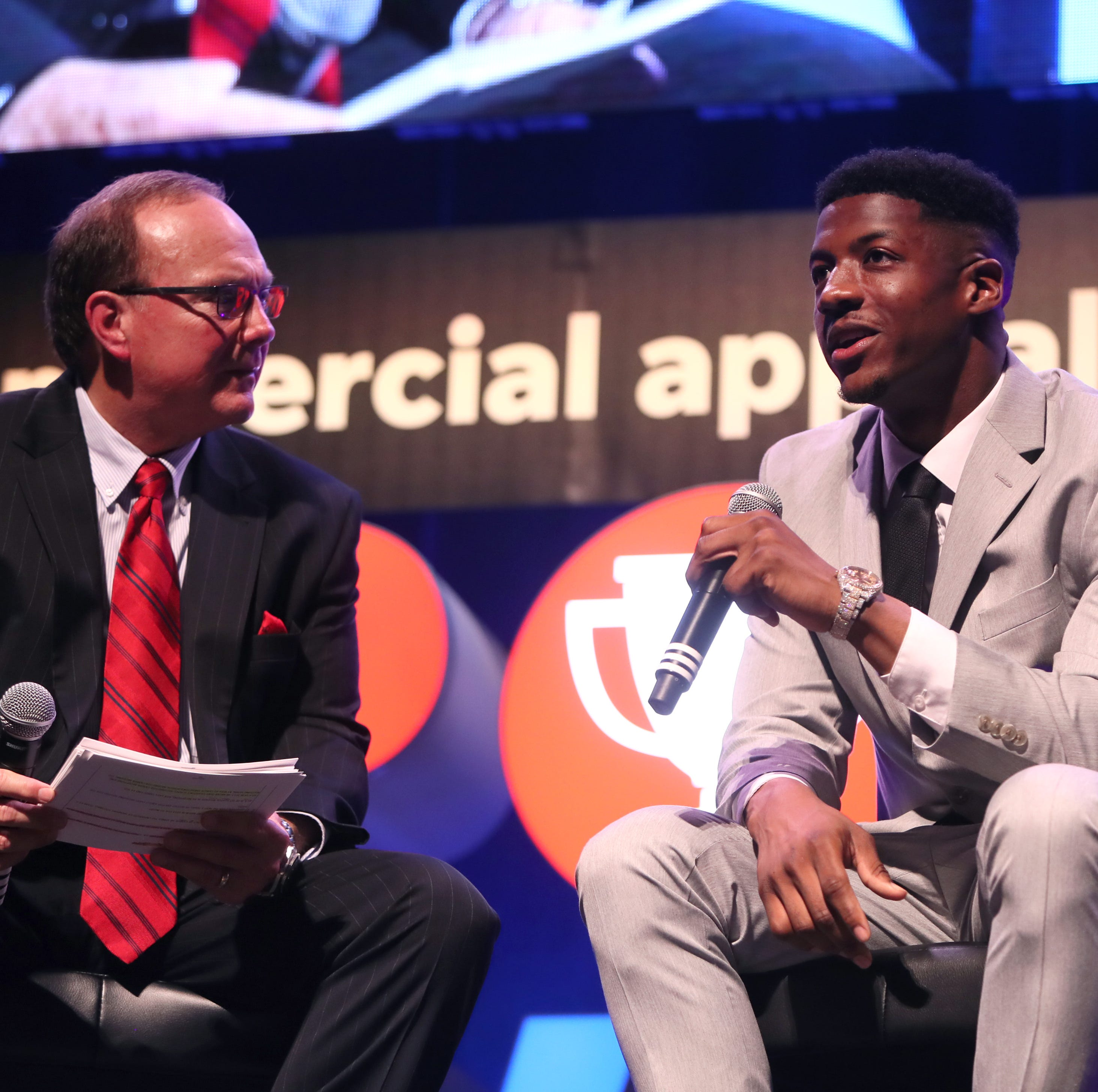 Chicago Bears, former Memphis WR Anthony Miller inspires at Commercial Appeal Sports Awards