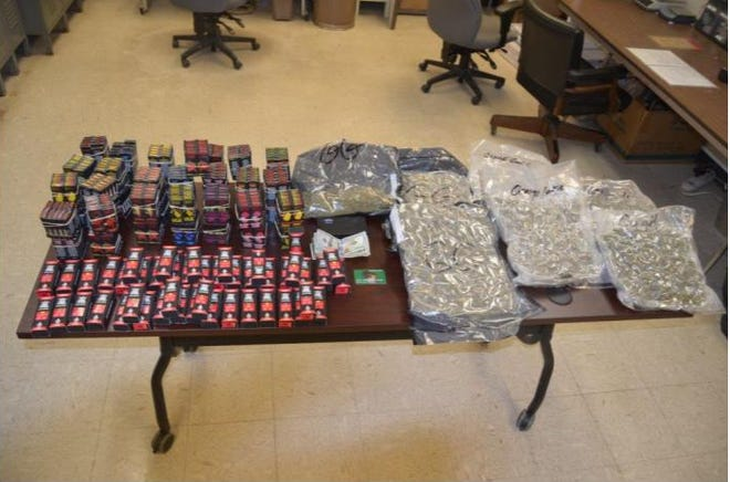 The Racine County Drug Metro Unit said it recovered these drugs from the home of Goran Ivic.