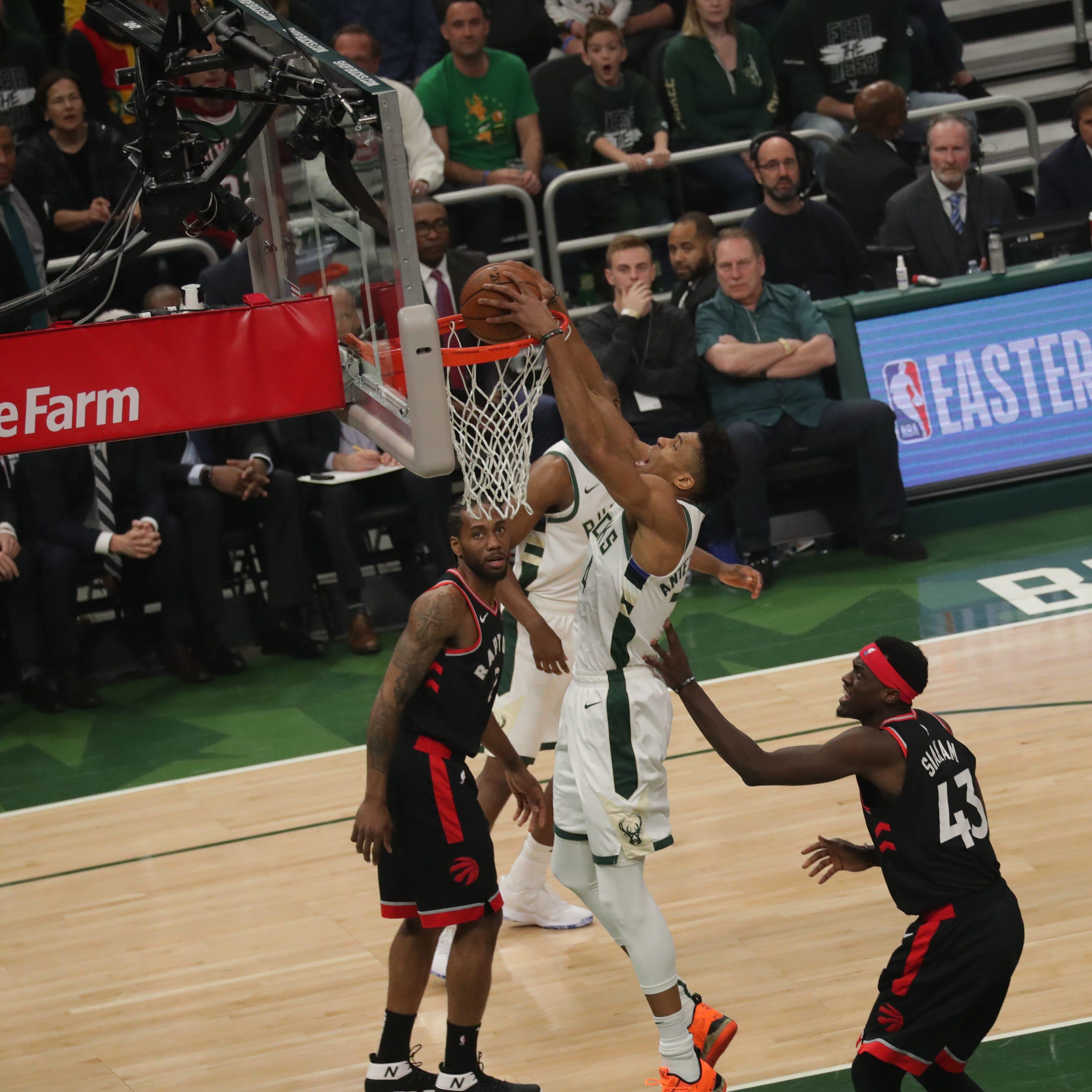 Live Coverage: Bucks-Raptors, Game 2