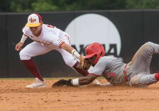 University of Louisiana Monroe played against University of Louisiana at Lafayette at Warhawk Field in Monroe, La. on May 18.