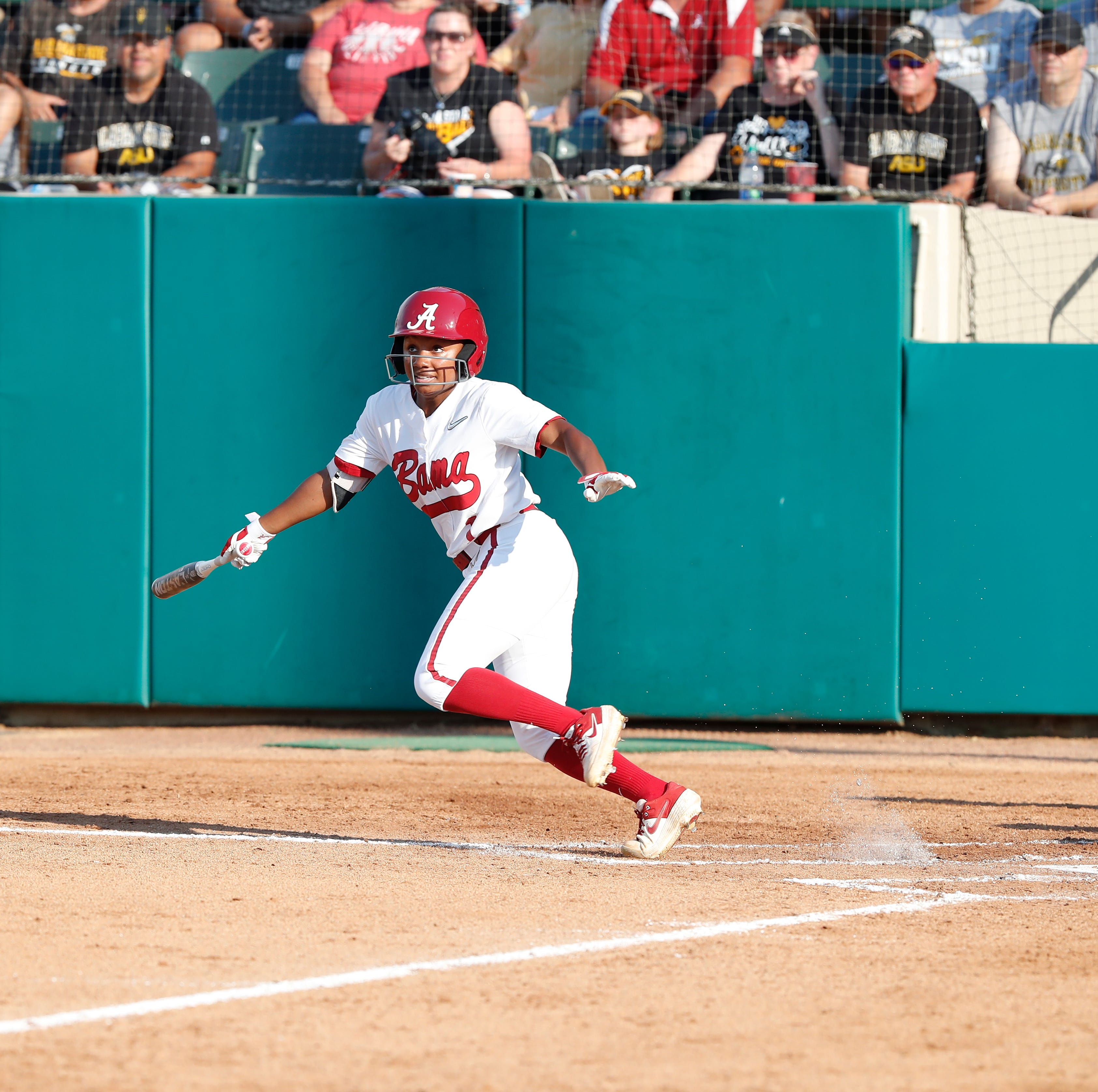 Brown leads Alabama softball past Alabama State