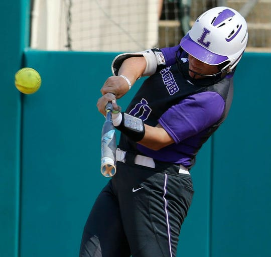 Jenna Pealor hit a home run for Lipscomb in the Bisons' 4-3 loss to Arizona State Friday in the opening round of the NCAA Softball Tournament in Tuscaloosa, Ala.
