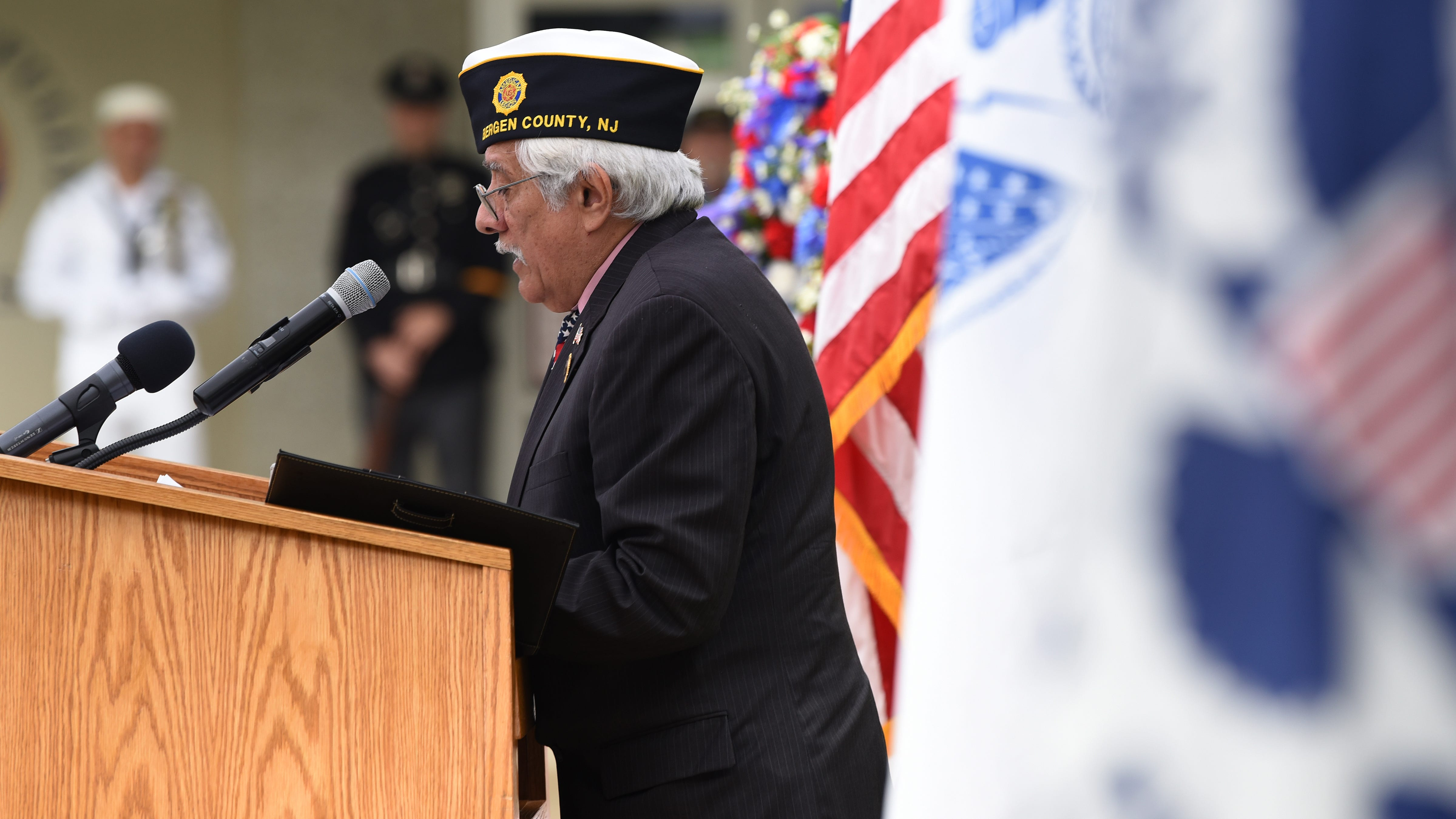 Bergen County honors military vets, active duty personnel