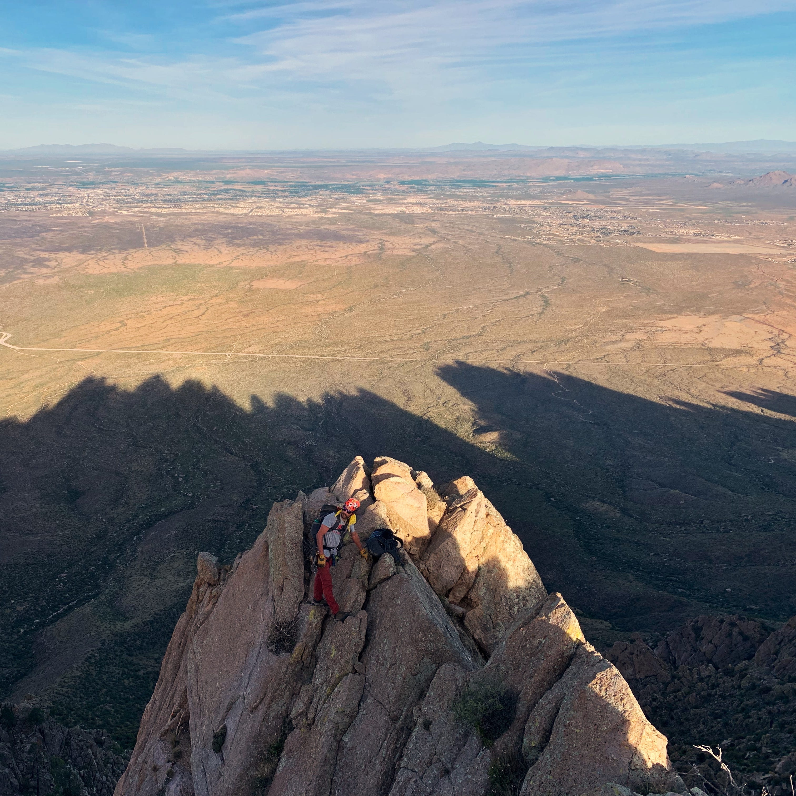 Mountaineers climb every peak in the Organs — in two days