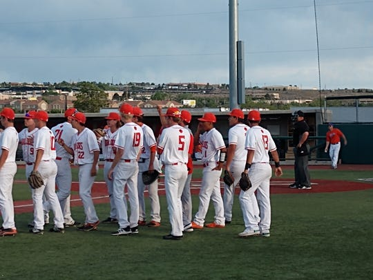 The Artesia baseball team played against Los Lunas in the Class 4A semifinals on Friday at Santa Ana Star Field in Albuquerque.