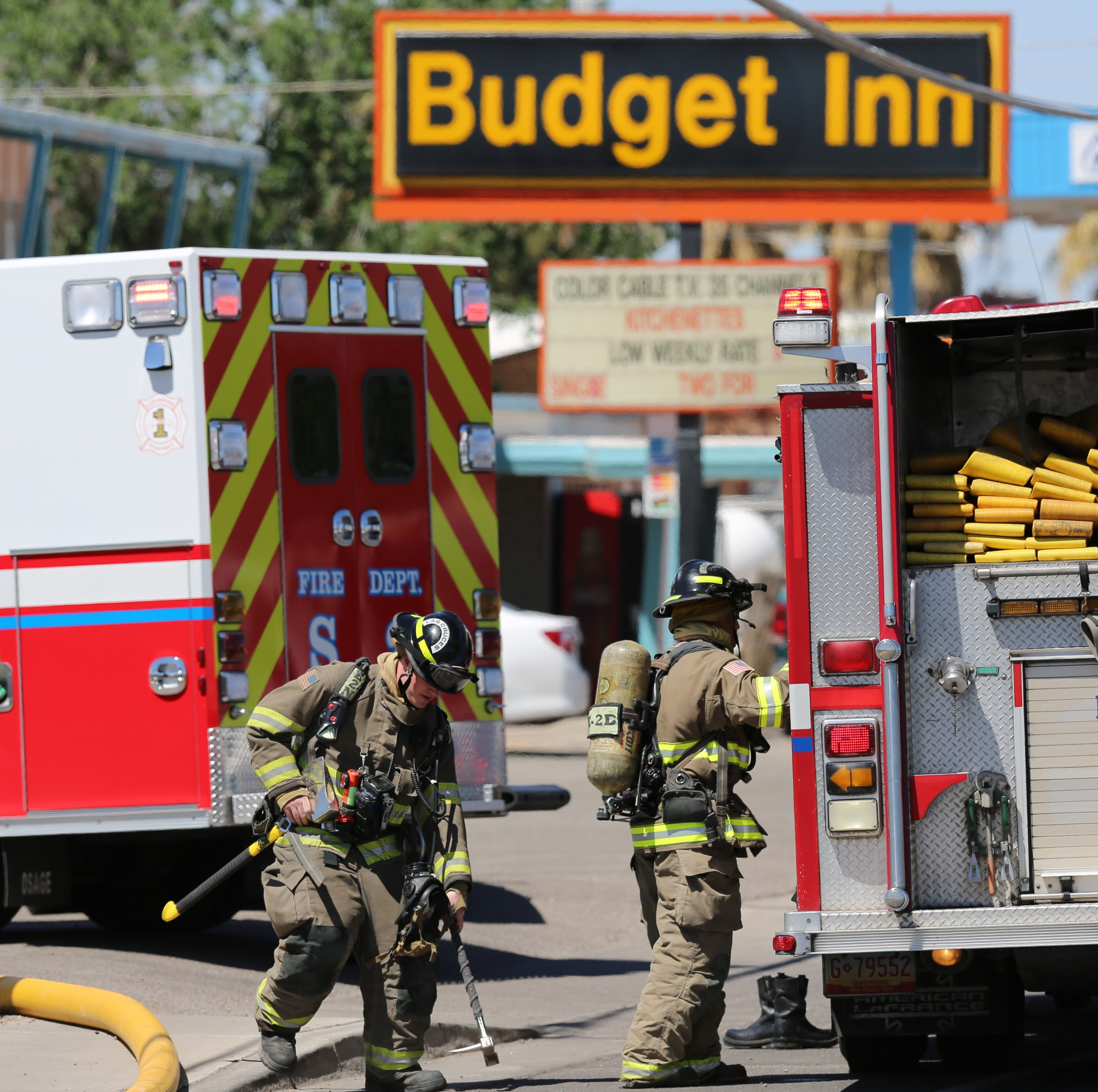 Woman sent to Lubbock after receiving burns in Las Cruces motel fire