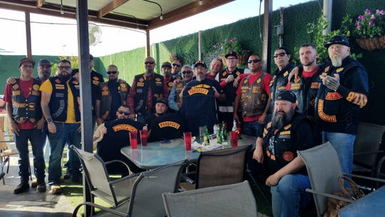 Local Motorcycle Clubs conduct the 6th Annual Paws and Claws Road Rally to raise money to support Dona Ana County Humane Society April 27.