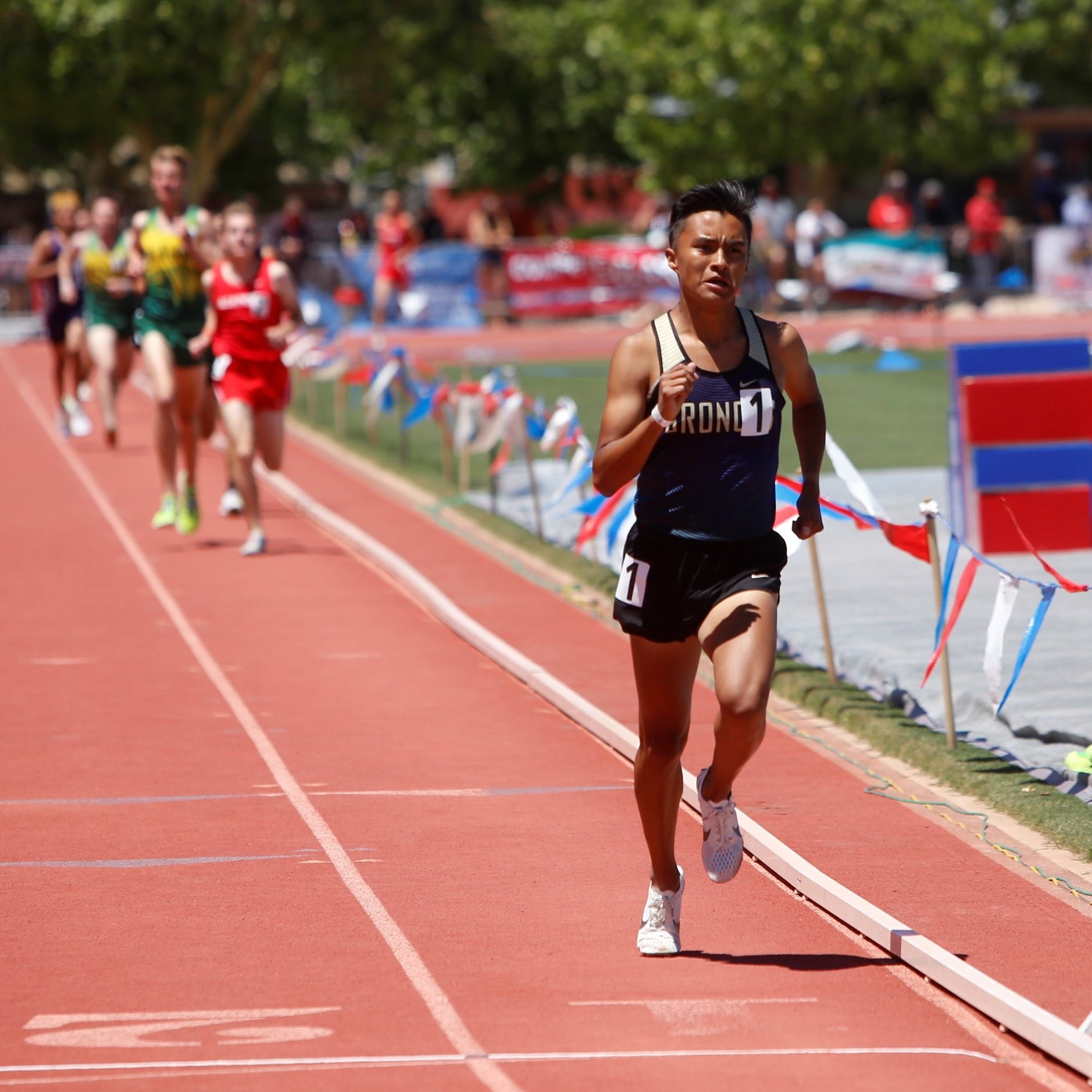 Kashon Harrison cements his legacy as distance runner