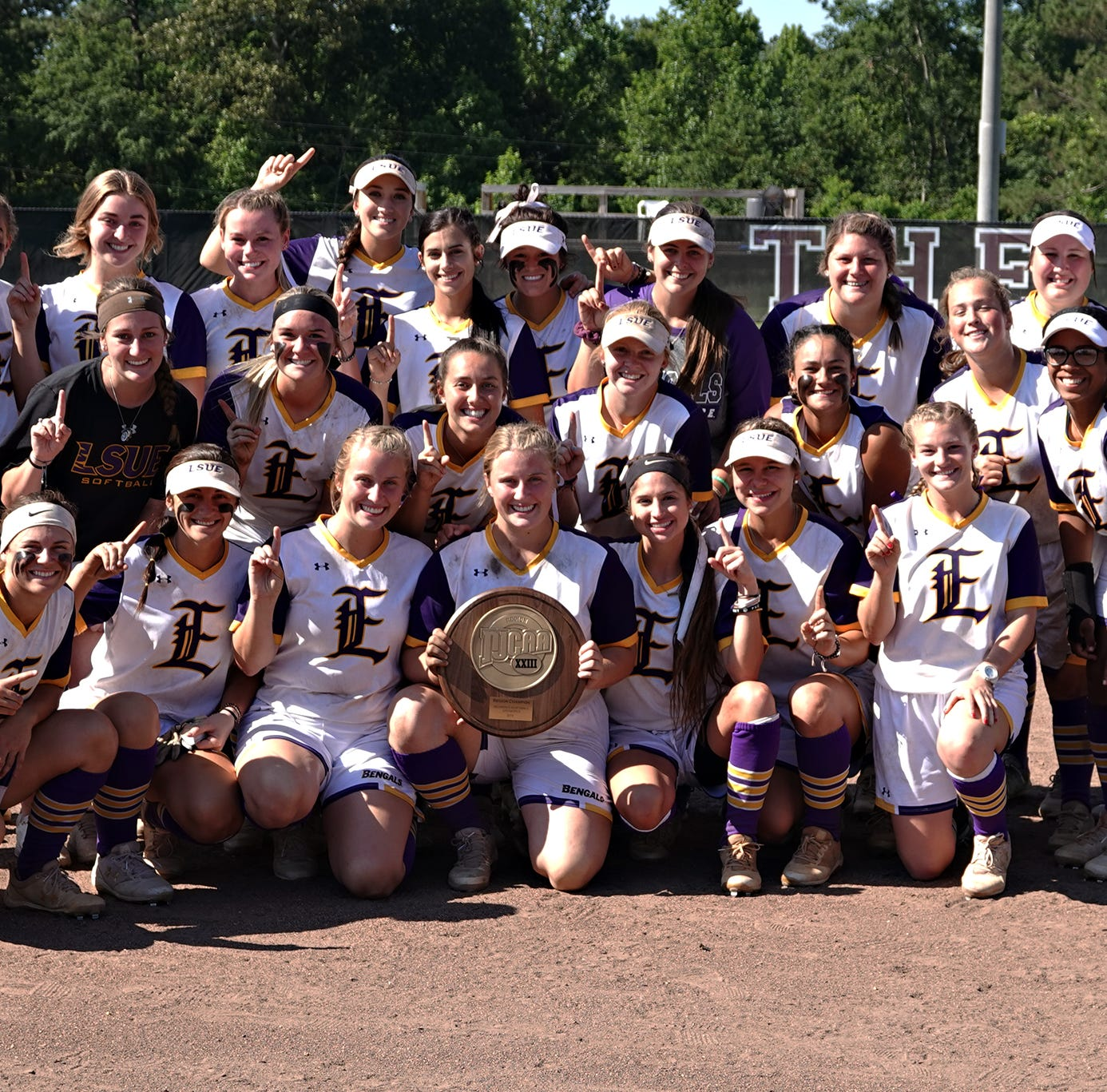 Top-ranked LSUE softball sweeps through Region 23 Tournament