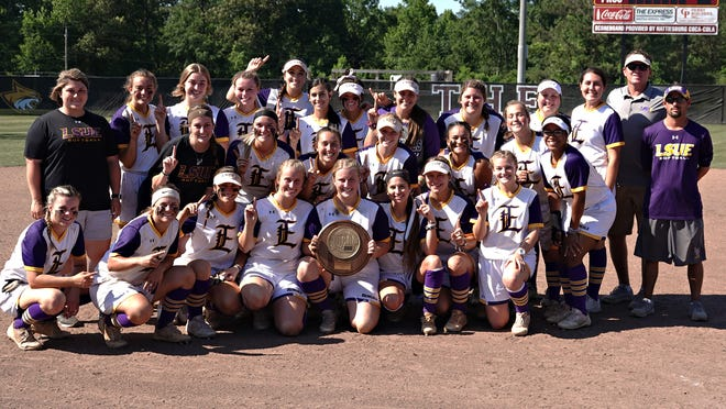 LSU Eunice softball went undefeated through the 2019 Region 23 Championship to win the program's fifth Region 23 title.