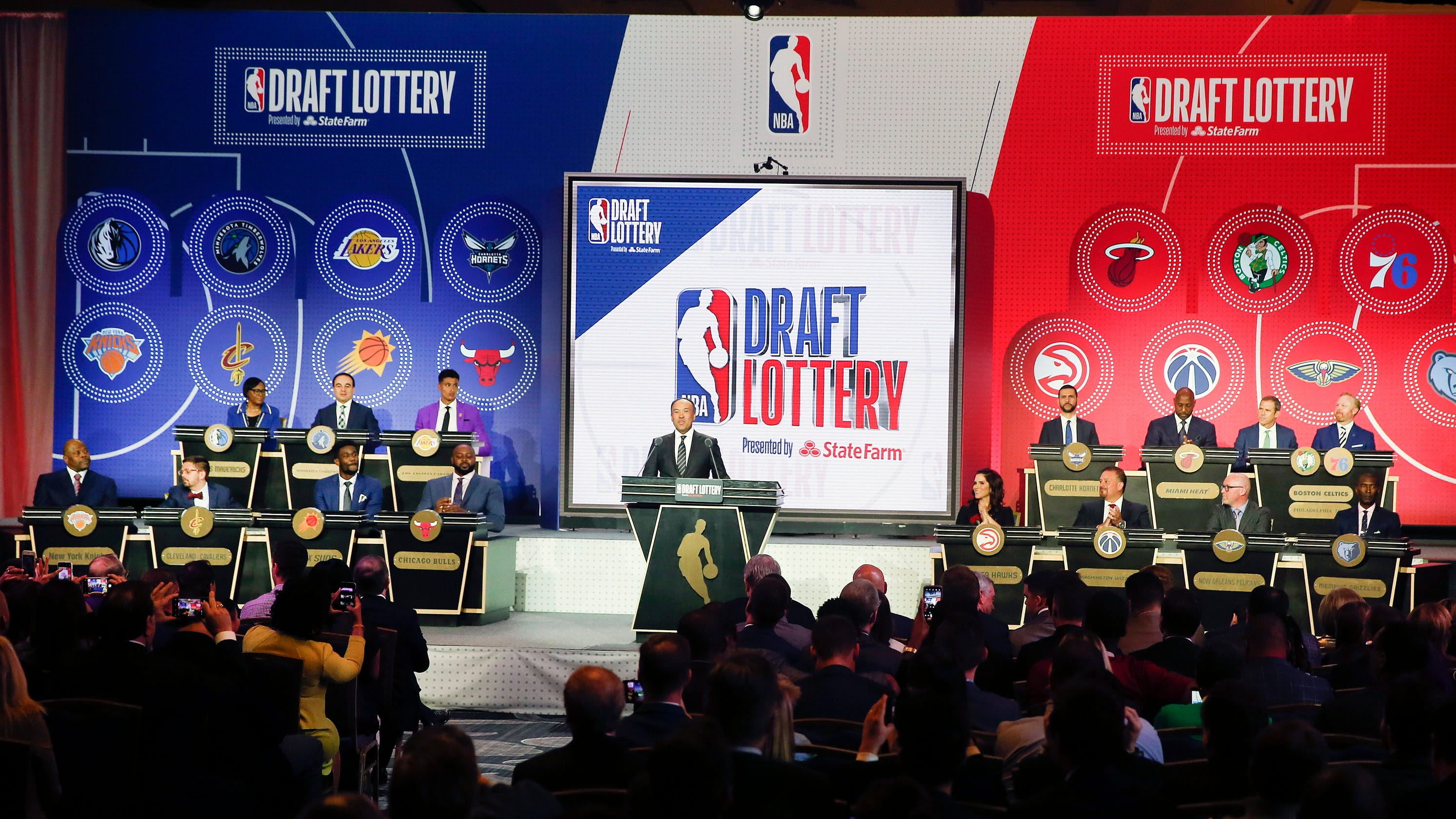 NBA draft lottery: NBA dodges conspiracy-theory bullet with new odds