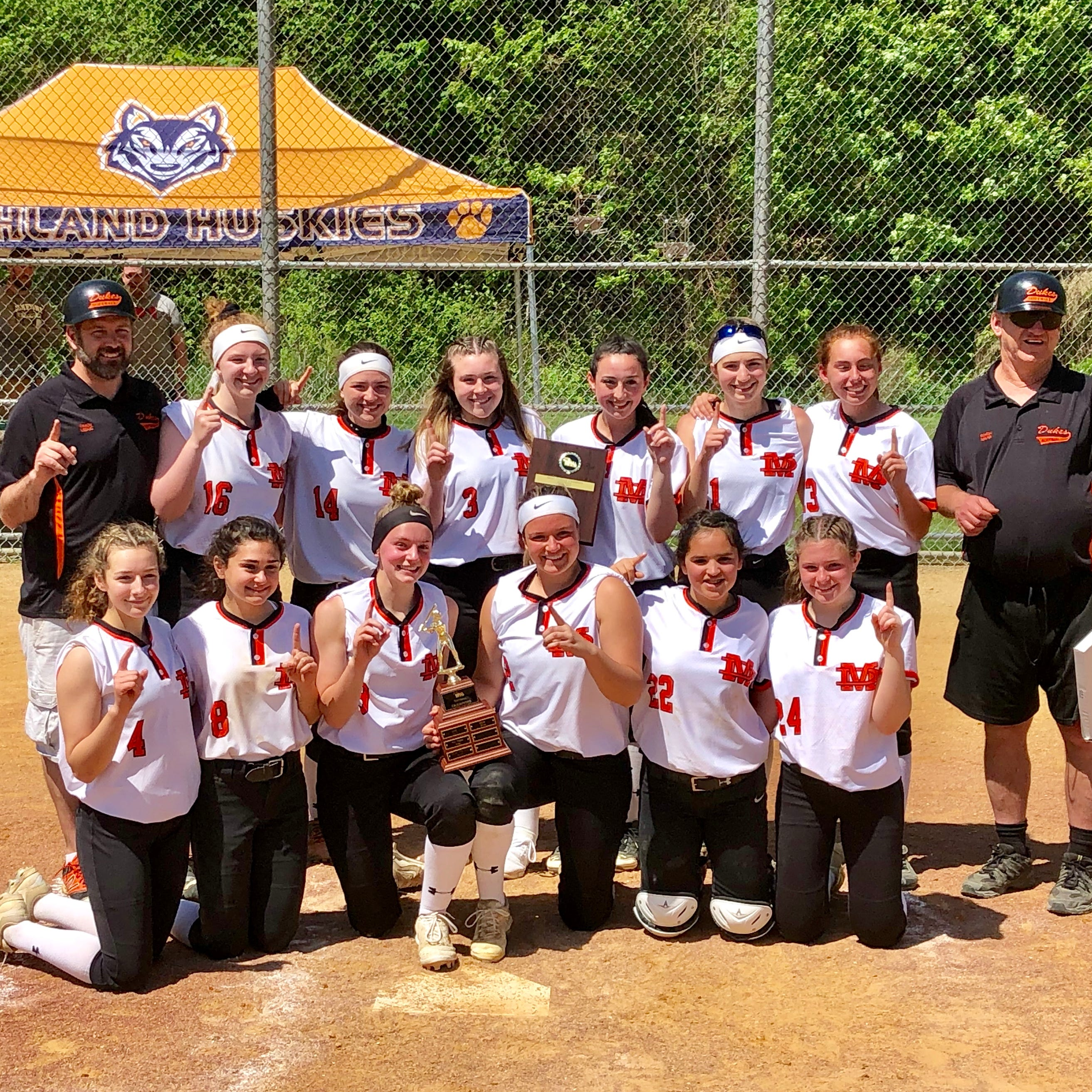 What nerves? Freshman DelSalto leads Marlboro to MHAL softball title