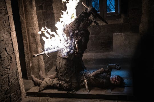 "Stuntmen in ""Game of Thrones"" enjoyed being set on fire, much to Executive Producer Bernie Caulfield's dismay."