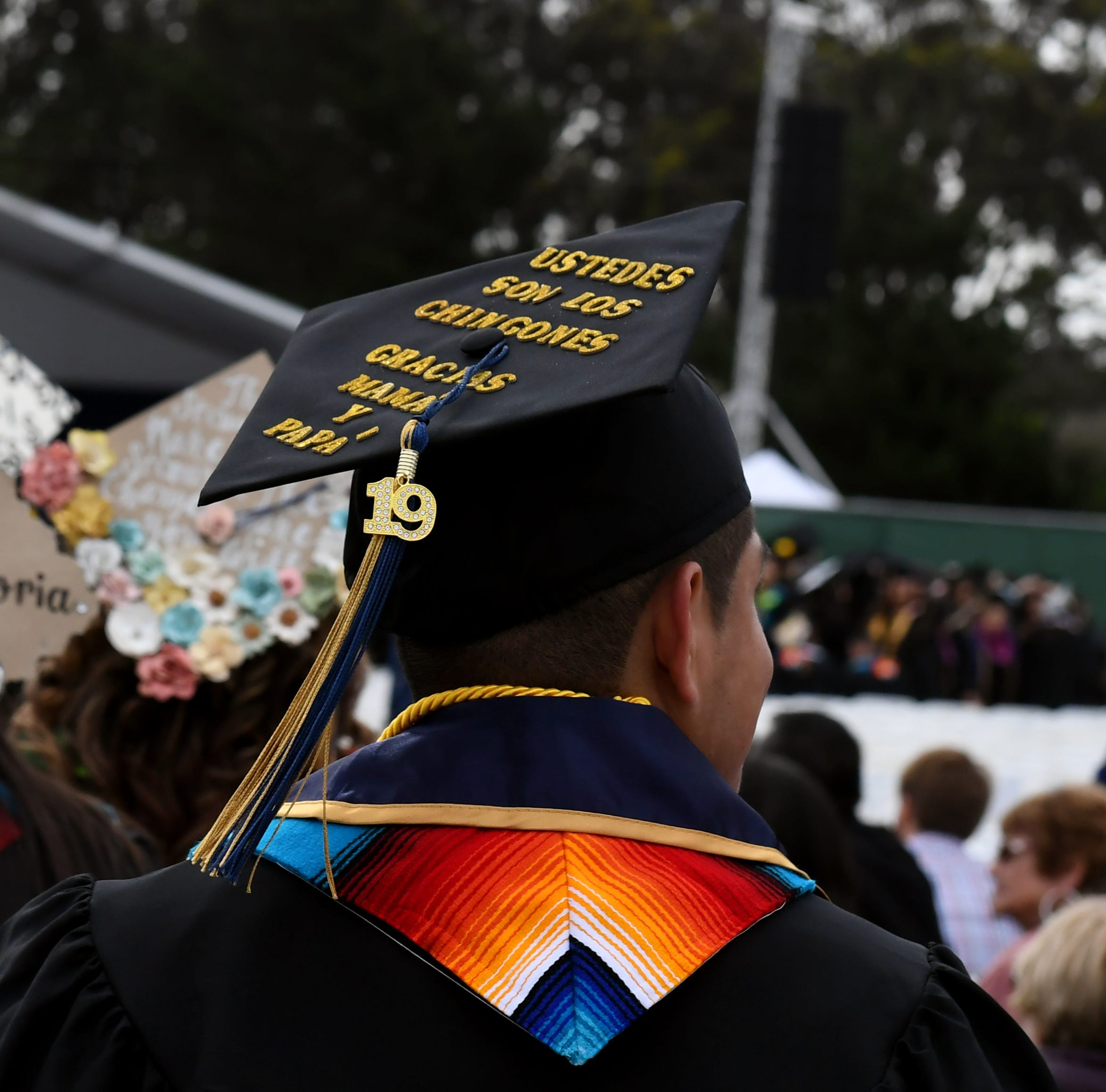 First-generation California college graduates share the spotlight with parents