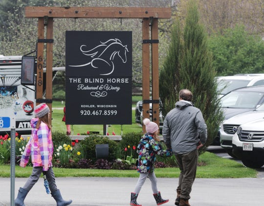 The Blind Horse Restaurant and Winery in Kohler will reopen with live music on the patio Friday and Saturday night. The winery itself will reopen May 28, and the restaurant will open for dine-in service June 5.
