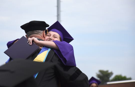 Scenes from Waynesboro High School 2019 graduation on May 18.