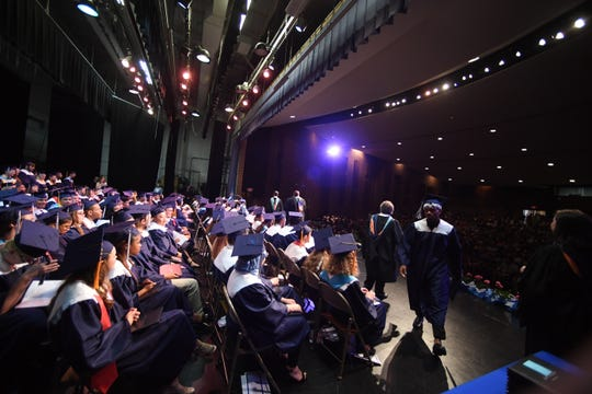 Scenes from the final commencement of Robert E. Lee High School in Staunton, Va. on Saturday, May 18, 2019. The school is beginning a multi-year reconstruction, but the name will be restored to the pre-1914 name of Staunton High School next school year.