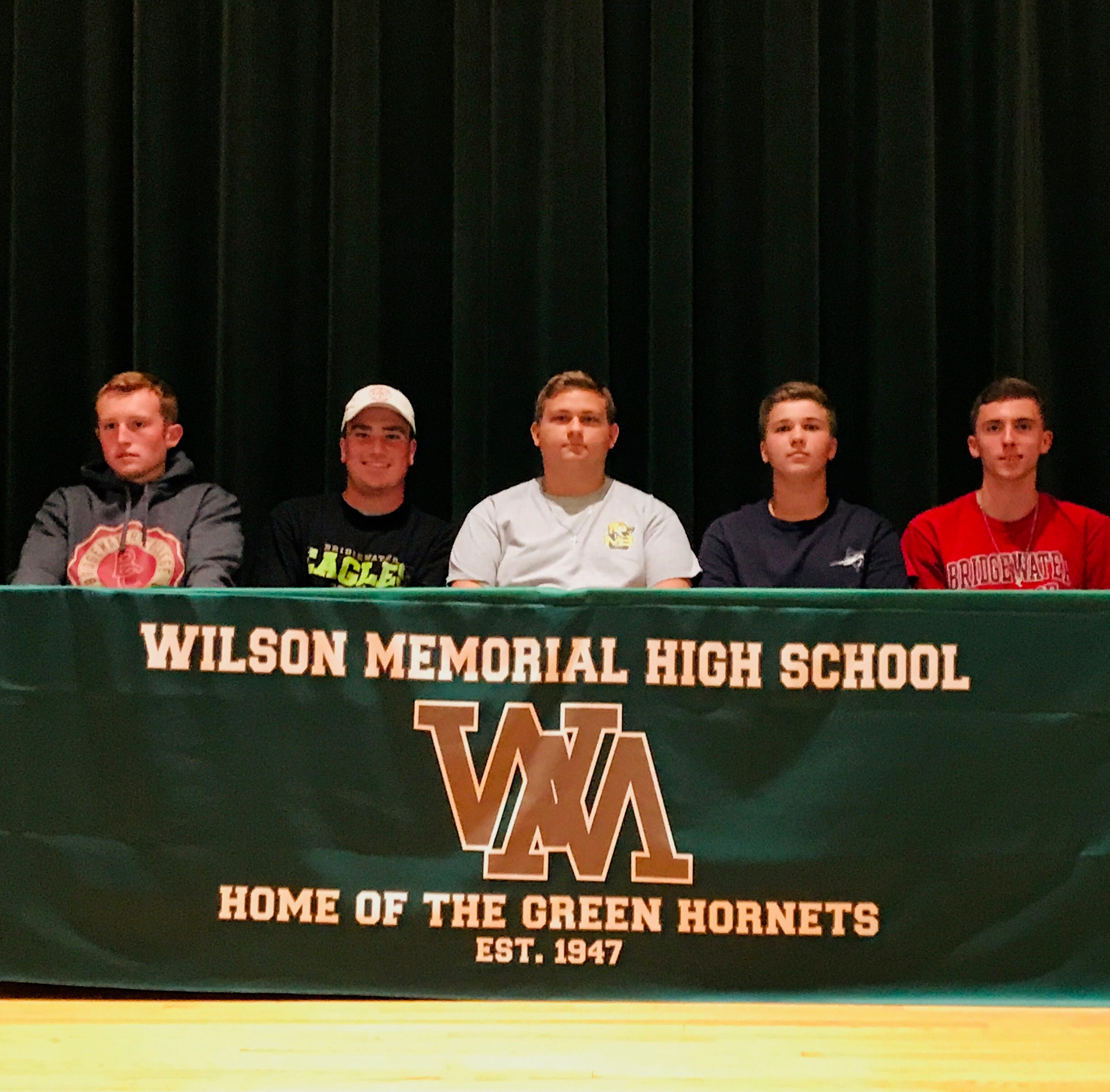 Graduating Hornets celebrate next step in athletic careers