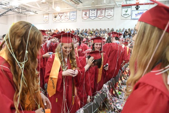 Graduation plans for this year's seniors are very much still in the planning stages as school officials wait to see what the governor's office allows this summer.