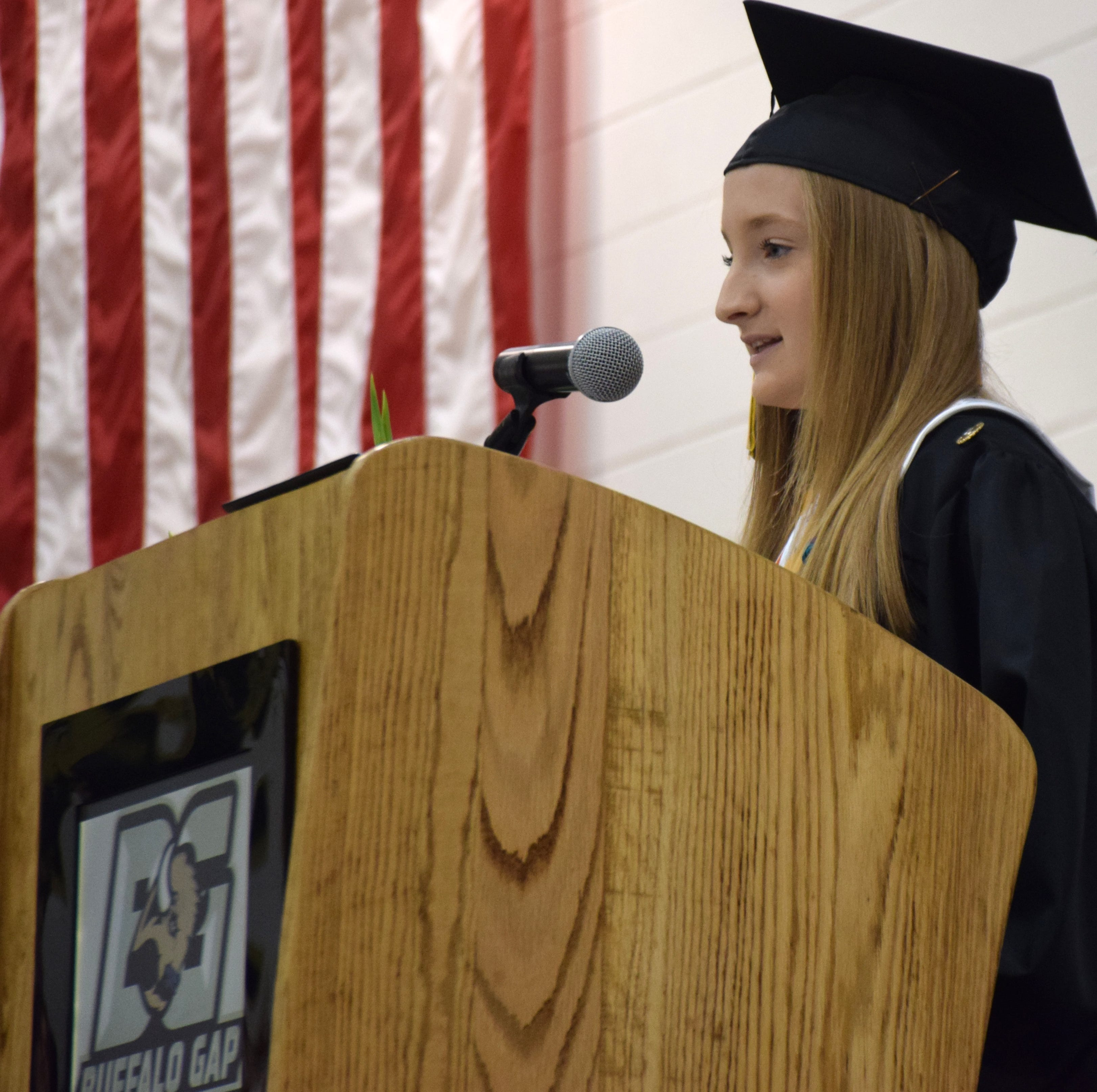 Photos: Buffalo Gap Commencement