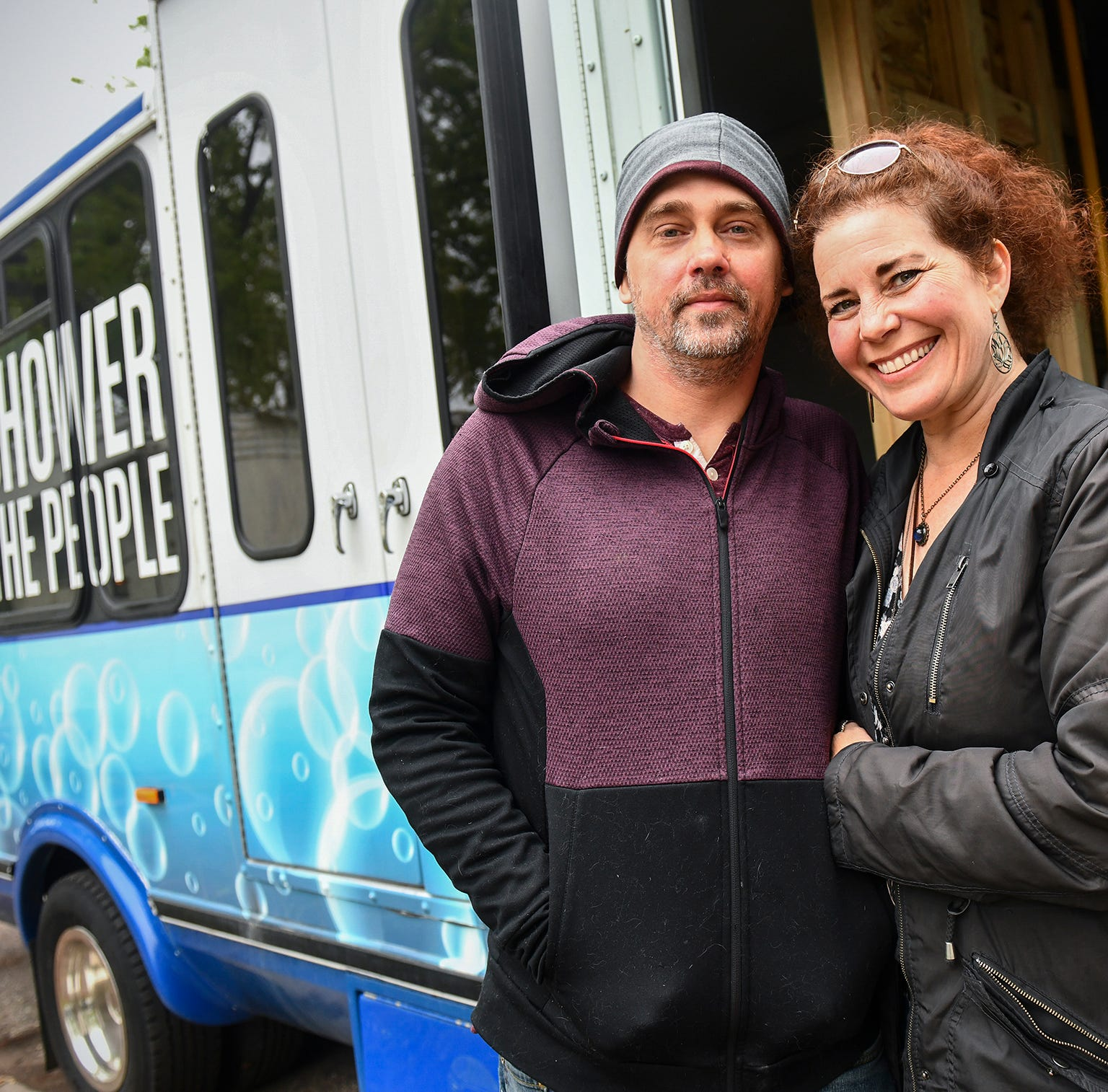 Helping the homeless: Couple creates mobile shower unit, will begin operating in June