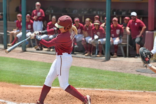 Makinzy Herzog's third homer of the season was a grand slam in FSU's 12-1 win over USF Saturday.