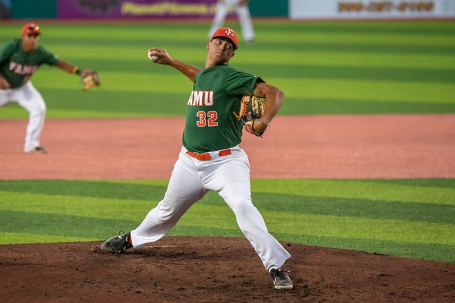 FAMU pitcher Josh Wilson kept N.C. A&T at bay with five strong innings of work in a 6-2 win.