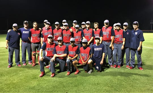 Wakulla Christian's baseball team won a Region 1-2A title on Friday, beating Christ's Church Academy 7-4. The Class 2A No. 6 Saints are headed back to state to after finishing as state runner-up last year.