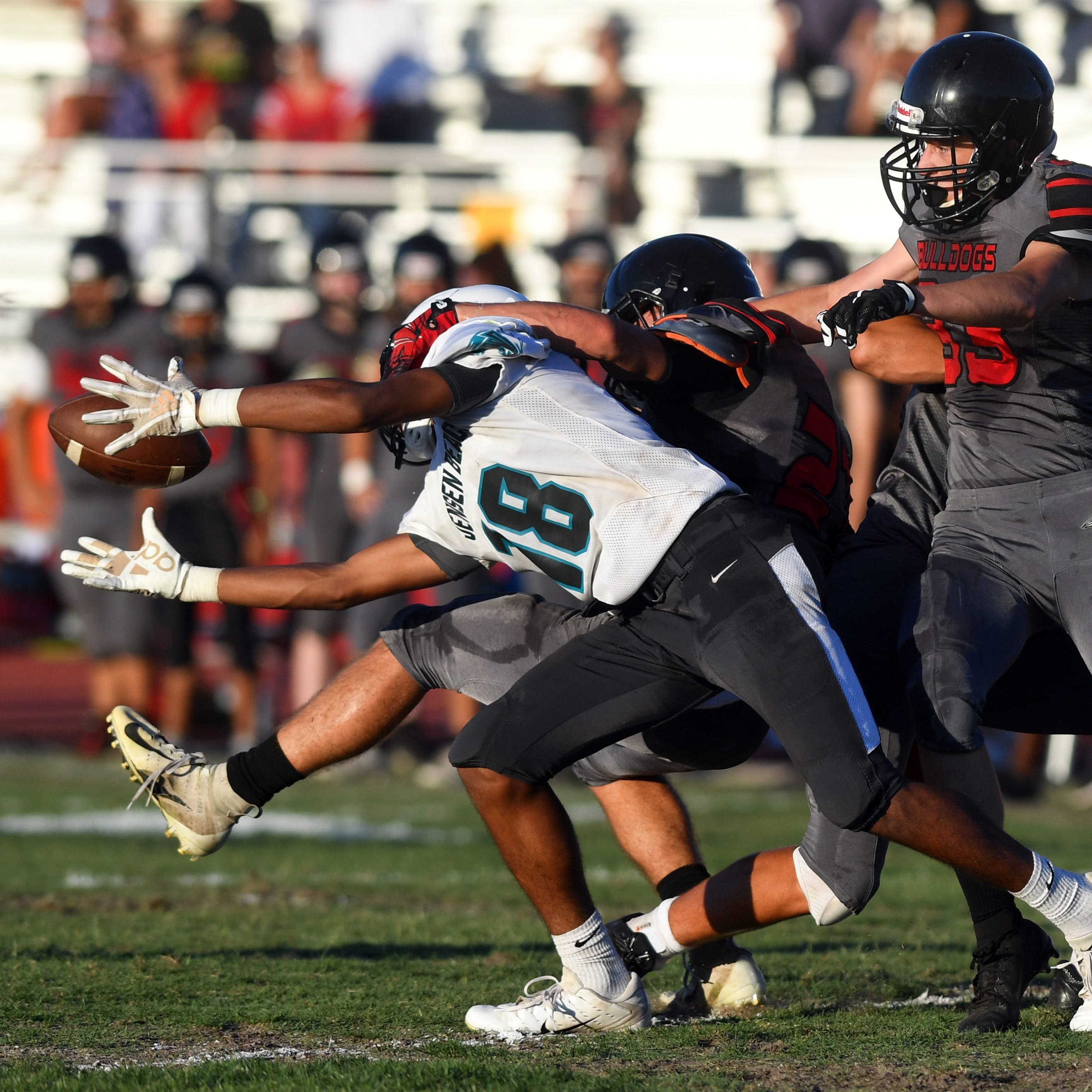 Spring football roundup: Centennial holds off Palm Beach Central