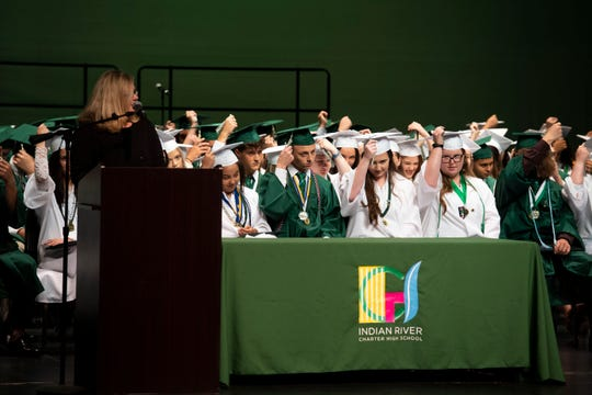 Indian River Charter High School graduated around 170 students during the school's 20th commencement ceremony on Saturday, May 18, 2019, at the Vero Beach Performing Arts Center at Vero Beach High School.