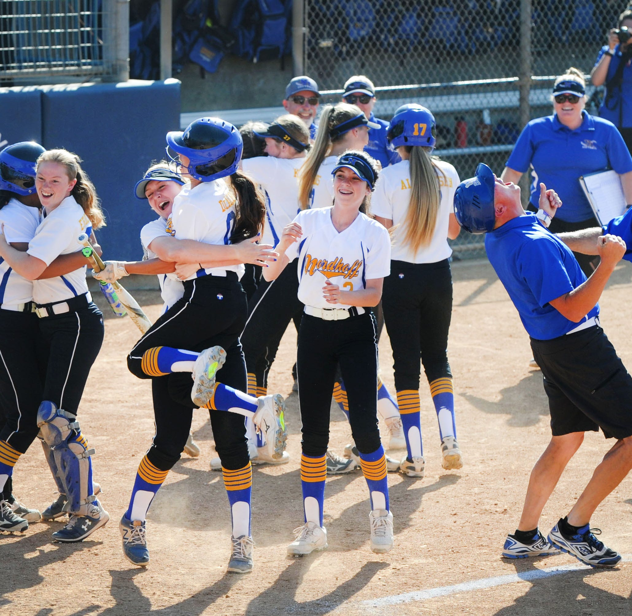 Wimpee's performance, Williams' heroics carry Nordhoff softball to first CIF-SS title