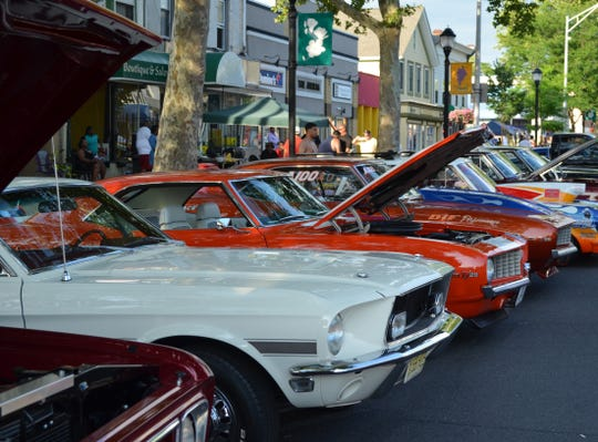 Vintage and exotic cars will line Landis Avenue when the Cruise Down Memory Lane returns to downtown Vineland from 5 to 9 p.m. June 8. The rain date is from 2 to 5 p.m. June 9.