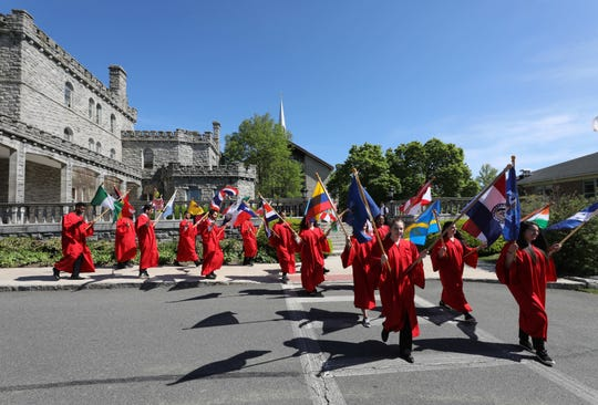 Manhattanville College celebrated their 178th commencement on their campus in Purchase, May 18, 2019.