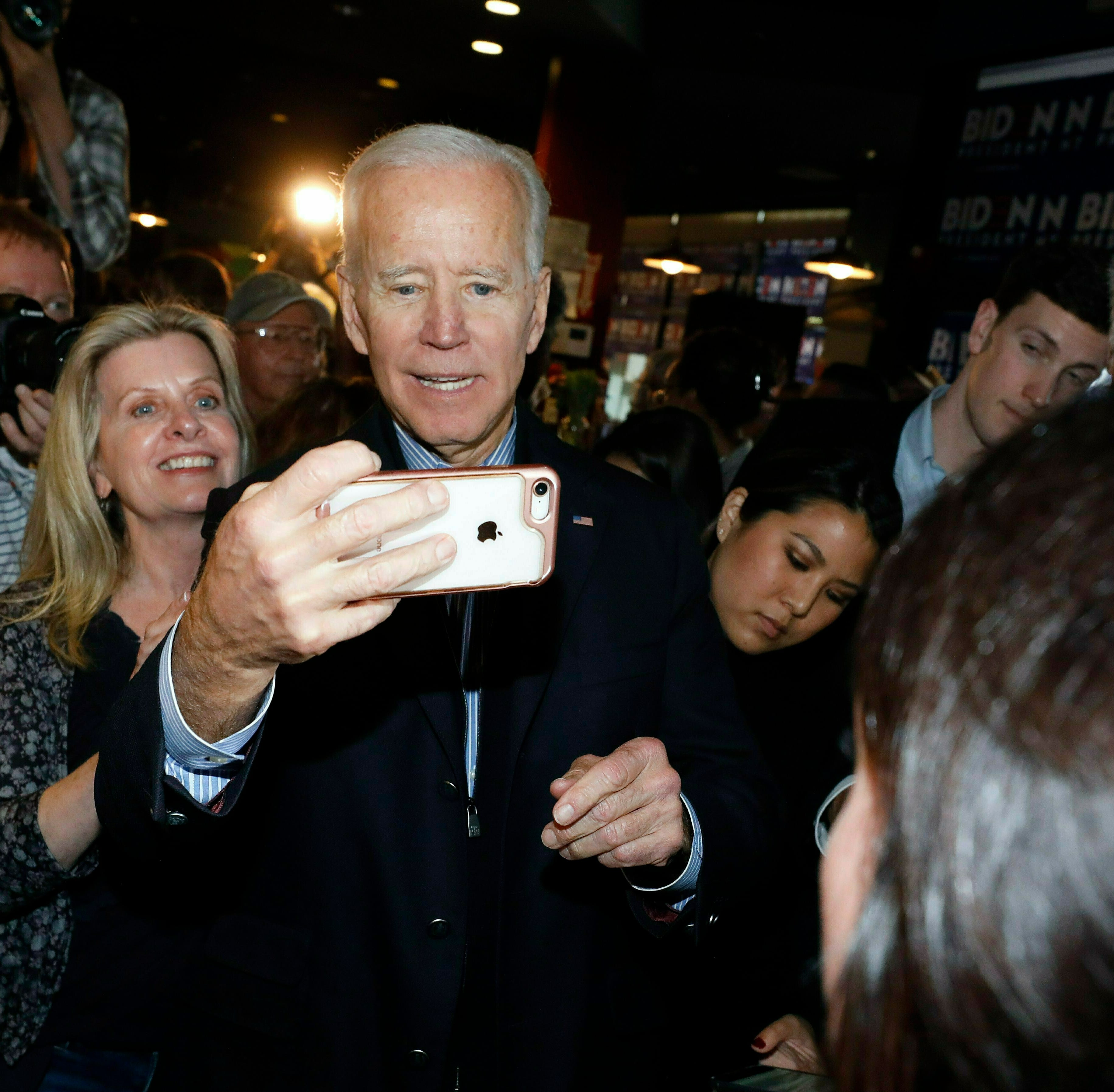 Biden rejecting Democrats' anger in call for national unity
