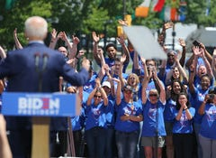 Sights & Sounds: Biden rallies in Philly
