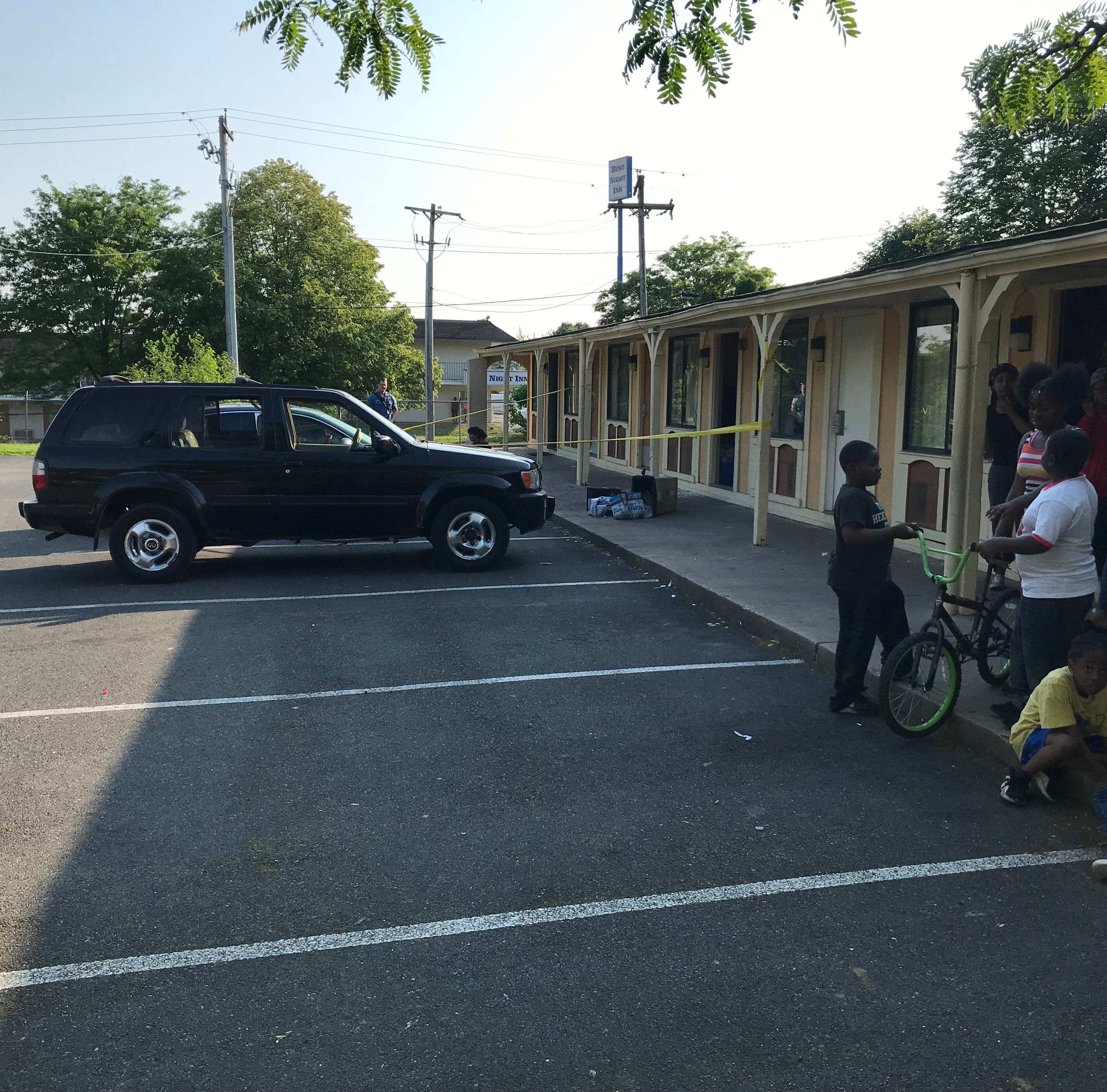 Gunshots, punched-out window, injury reported at Minquadale-area motel