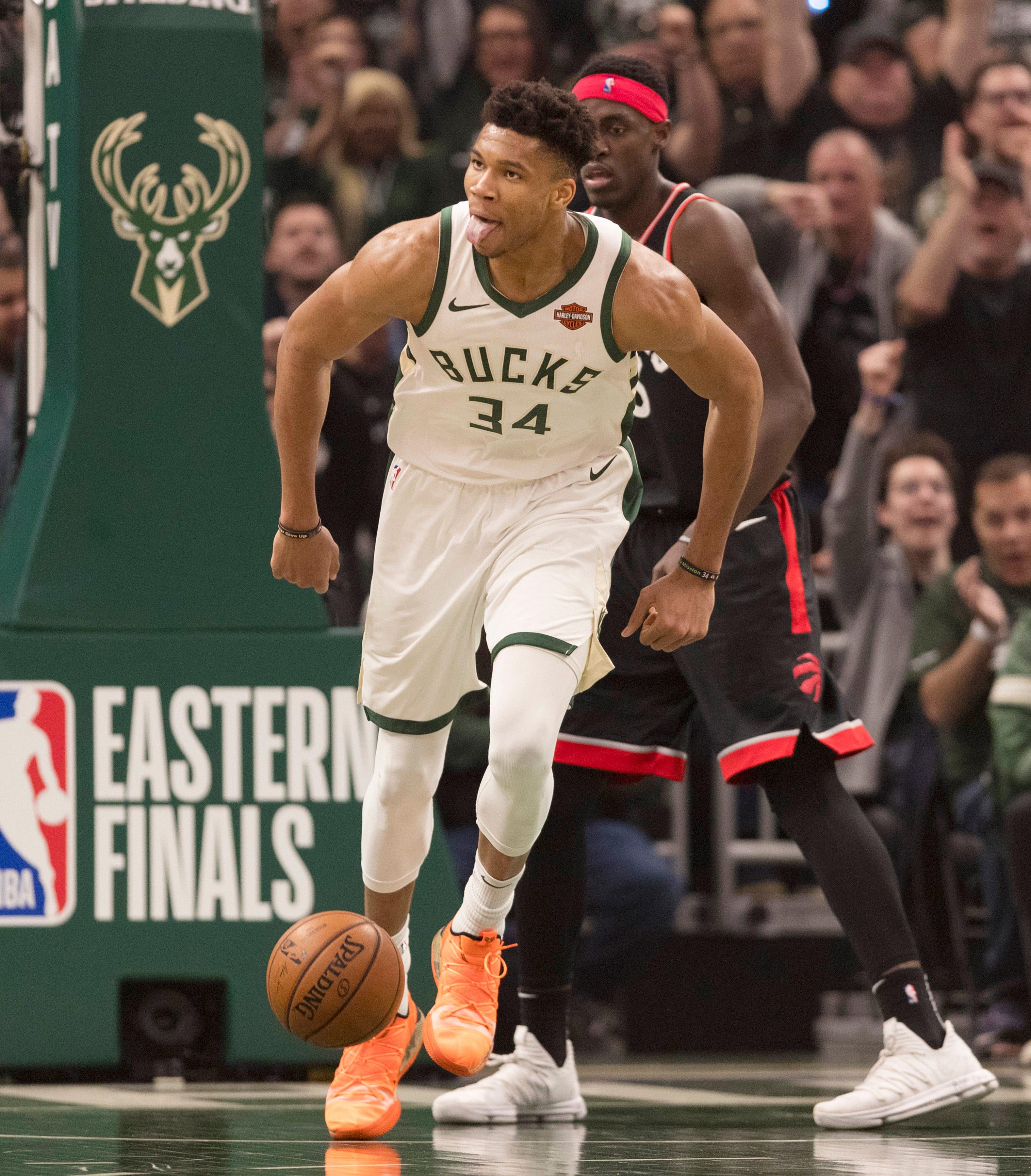Bucks dominate Raptors to take 2-0 lead in East finals