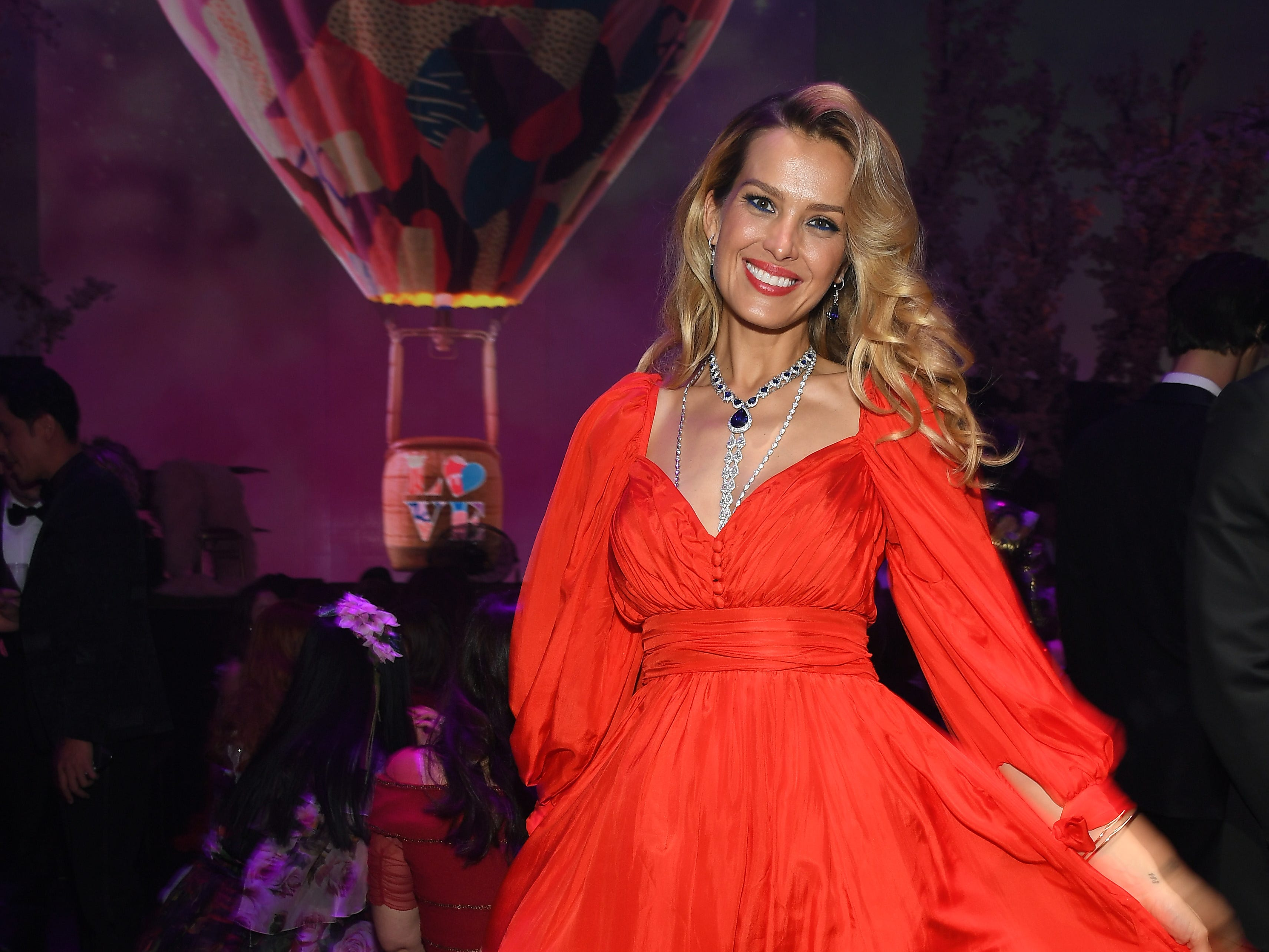 Petra Nemcova attends the Chopard Love Night dinner on May 17, 2019 in Cannes, France.