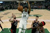 SportsPulse: USA TODAY Sports' Jeff Zillgitt and the Milwaukee Journal Sentinel's Matt Velazquez break down Game 2 of the Eastern Conference finals, where the Bucks dominated the Raptors to take a commanding 2-0 series lead.