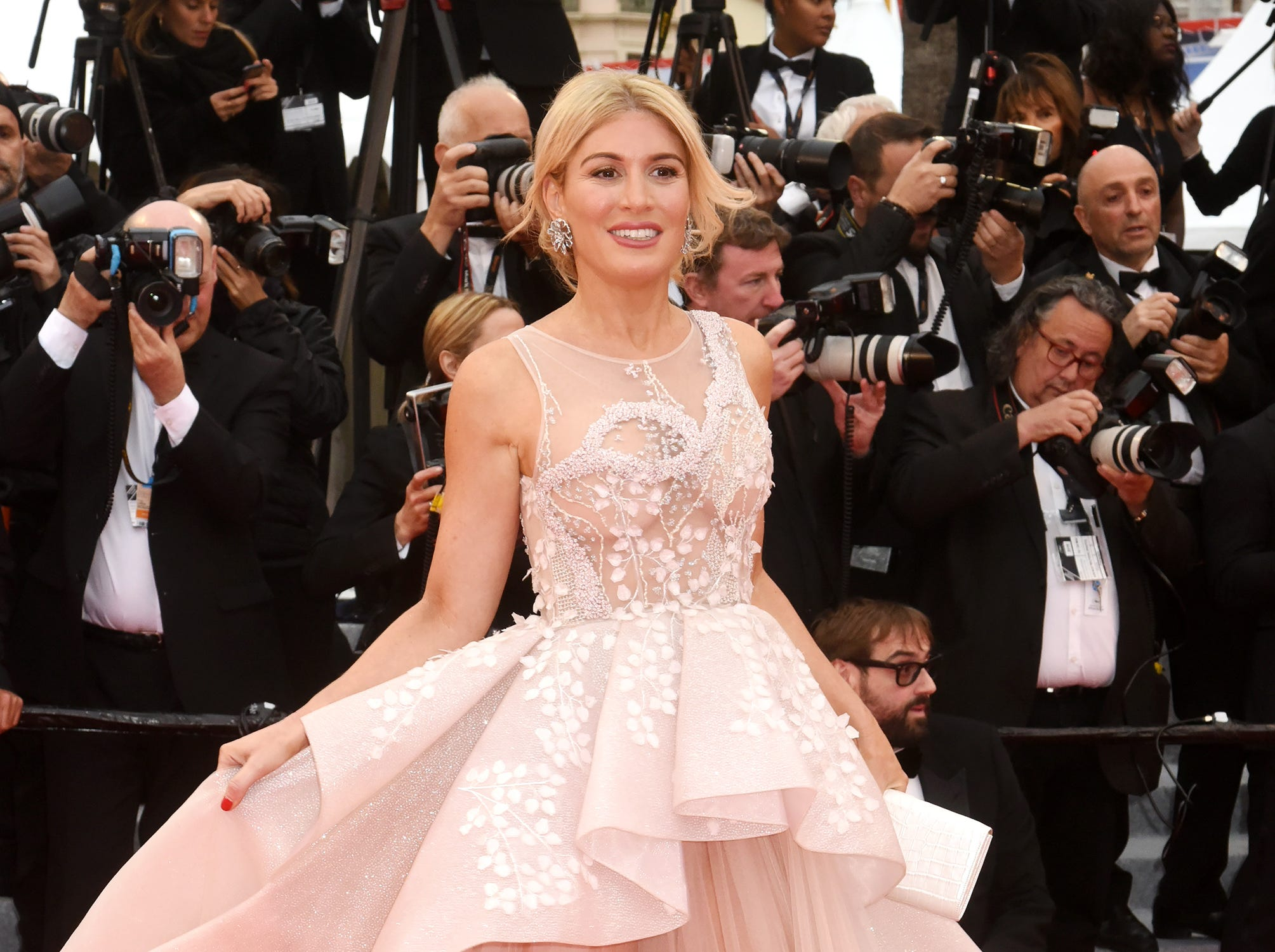 """Hofit Golan attends the screening of """"Pain And Glory (Dolor Y Gloria/Douleur Et Gloire)"""" during the 72nd annual Cannes Film Festival on May 17, 2019 in Cannes, France."""