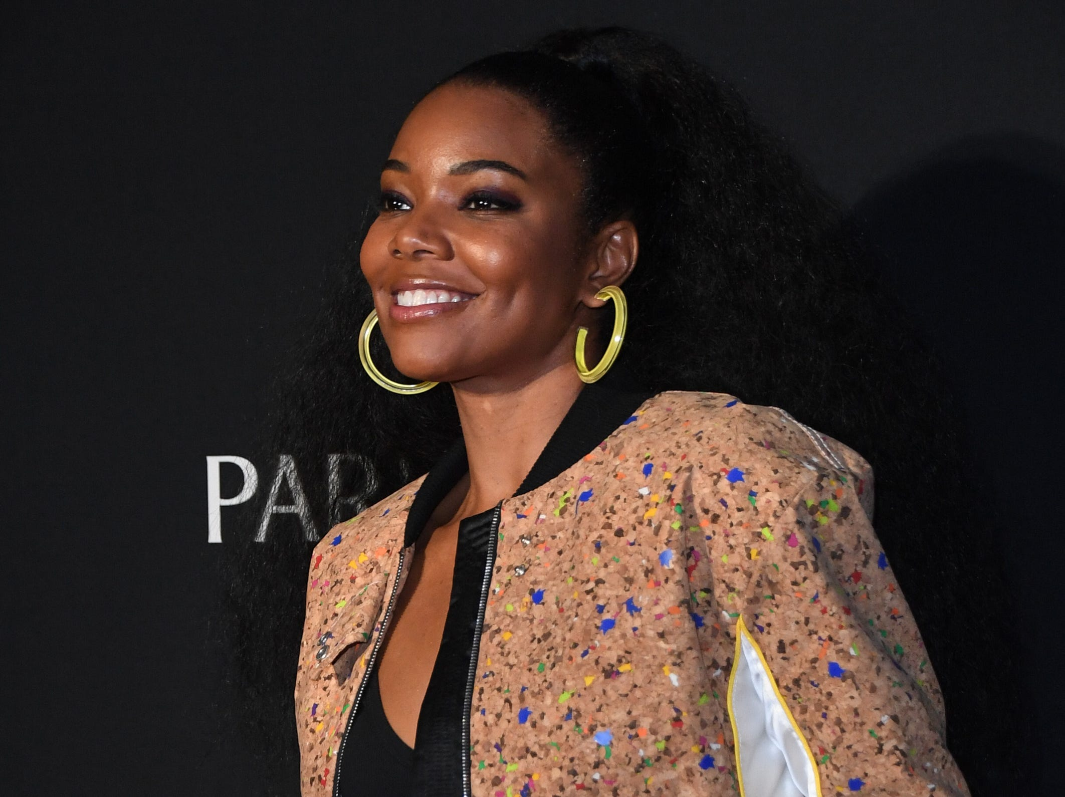 """Actress Gabrielle Union attends the after party for the debut of Janet Jackson's residency """"Metamorphosis"""" at On The Record Speakeasy and Club at Park MGM on May 17, 2019 in Las Vegas."""