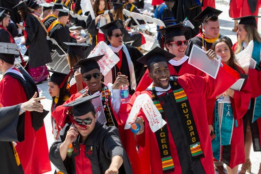 rutgers university graduation 2020