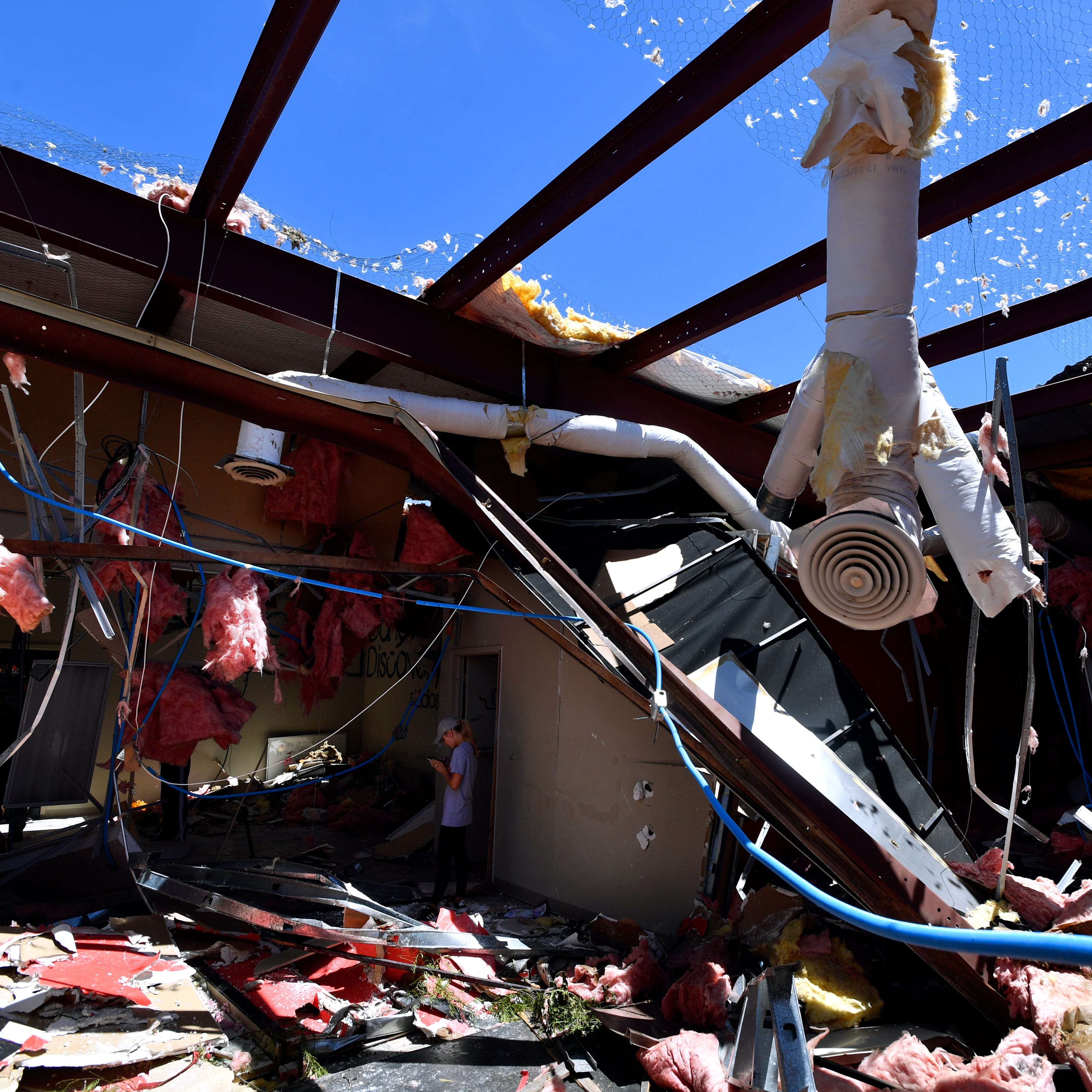 Abilene dance studio damaged in Saturday's storm embraced by 'family' and strangers alike