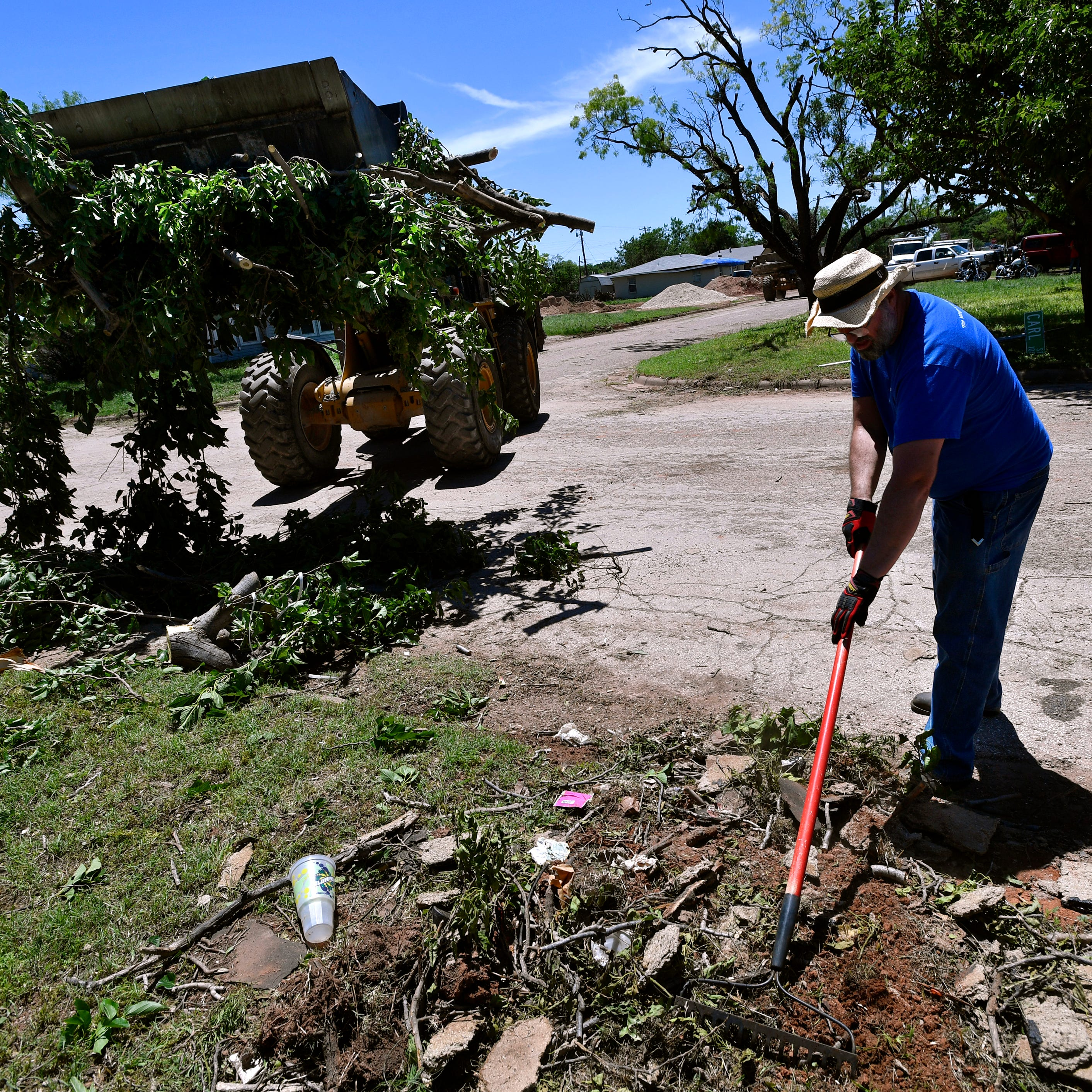 Weather Service: 'At least' EF-2 tornado struck Abilene on Saturday