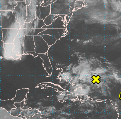 Disturbance near Bermuda has 30% chance of becoming tropical cyclone by Tuesday