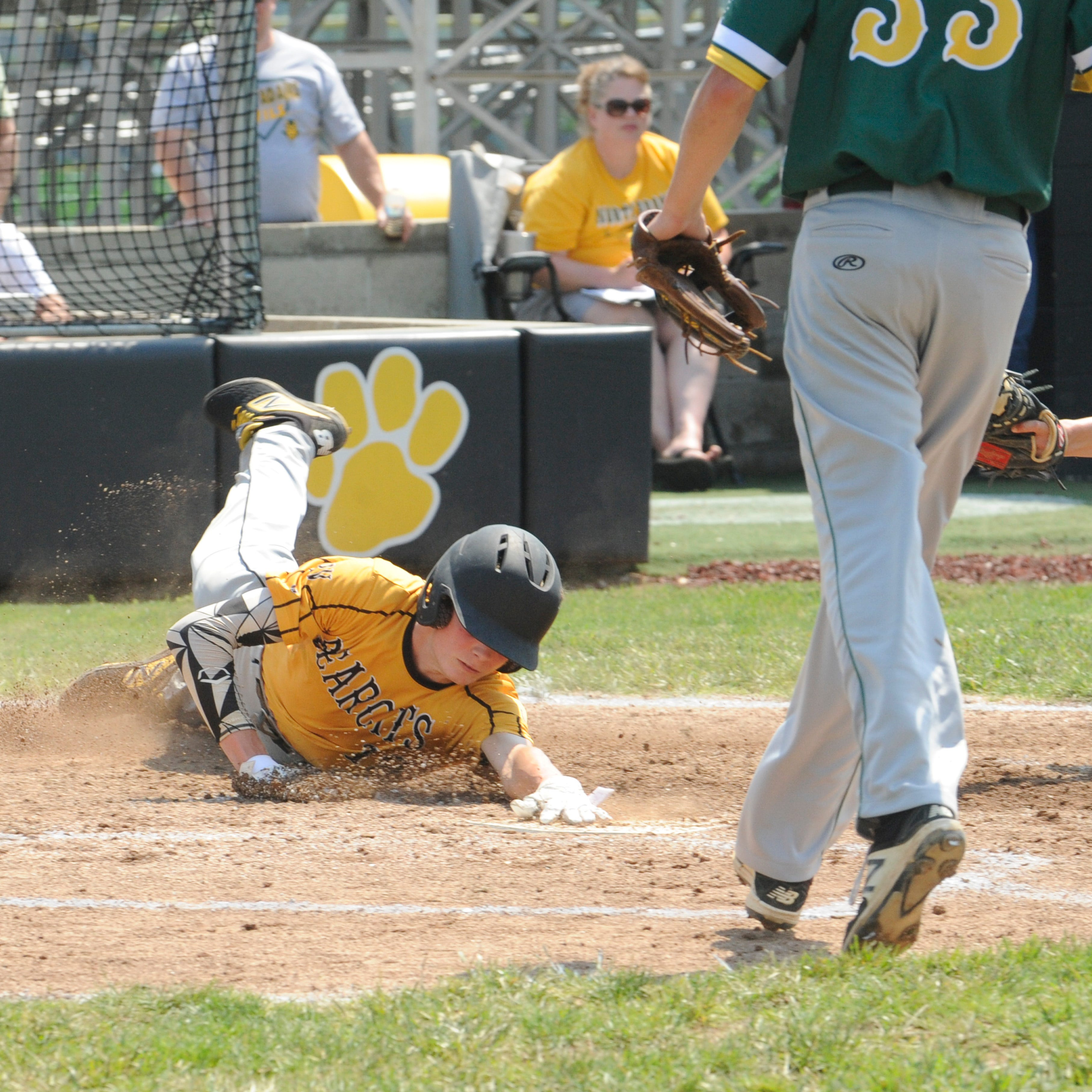 Tourney scores: Paint Valley baseball wins sectional title 5-0 over North Adams