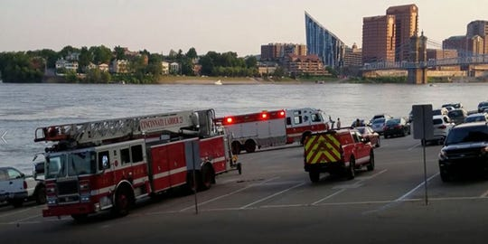 Fire officials plan ongoing recovery mission after woman falls into Ohio River