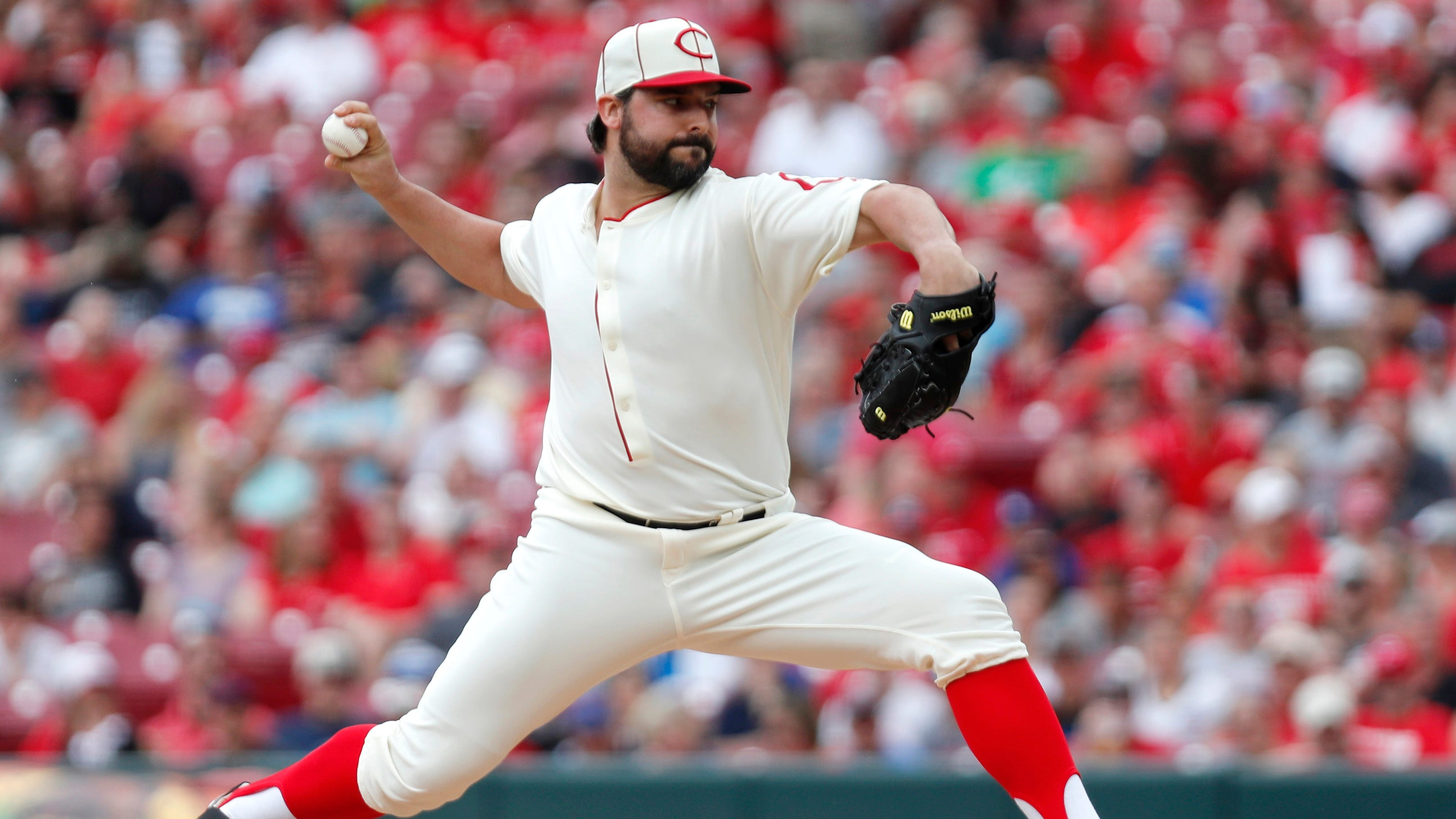 Tanner Roark expresses frustration about early hook in Reds loss to Dodgers - Cincinnati.com