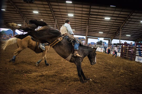 The Kiwanis Club of Clarksville Professional Rodeo was held at the 4H Arena on Saturday May 18, 2019.